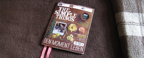The Simple Things Magazin, Januar 2013