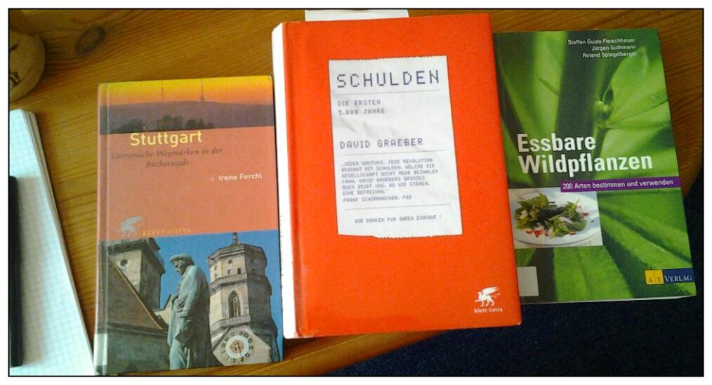 3 neue Bücher