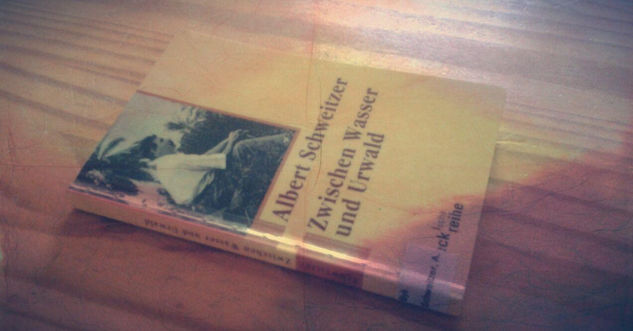 Buch Albert Schweitzer